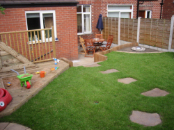 Landscape gardening in northwich knutsford the handyman for Garden design knutsford